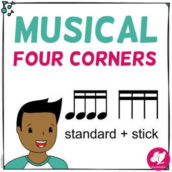 Musical Four Corners, 16th Note Rhythms