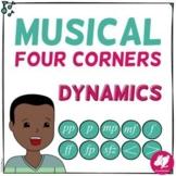 Musical Four 4 Corners, Fun Dynamics Game