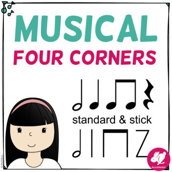 Musical Four Corners, Half Note Rhythm Game