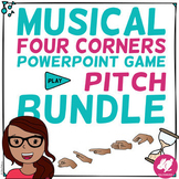 Musical Four Corners SOLFÈGE Game Bundle