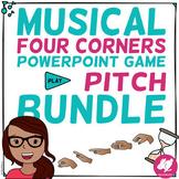 Musical Four 4 Corners SOLFÈGE Game Bundle