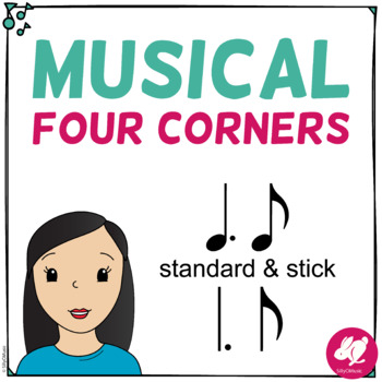 Musical Four Corners, Tam- ti, Quarter note - Eighth Note