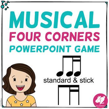 Musical Four Corners, Ti-Tika Rhythm Game (Stick & Standard Bundle)