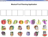 Musical Fruit Planning App