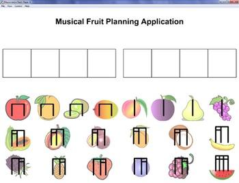Musical Fruit Planning App