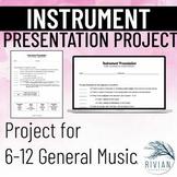 Musical Instrument Presentation Project (PDF & Google Drive Versions)