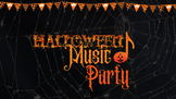 Musical Halloween Zoom Party for Piano (no planning required)