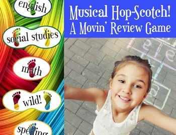 Musical Hop-Scotch Review Game!