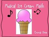 Musical Ice Cream Math