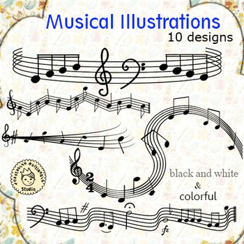 Musical Illustrations (set 1)