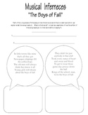 "Musical Inferences (Kenny Chesney ""Boys of Fall"""