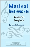 Musical Instruments Research Template
