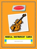 Musical Instrument Cards