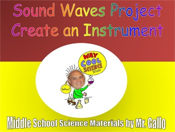 NGSS ES./MS./HS. Waves: Sound Waves Project