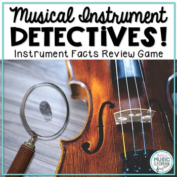 Musical Instrument Be A Detective Game - Review Orchestral Instruments