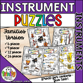 Musical Instrument Families Puzzle Set