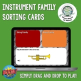 Musical Instrument Families Sorting Activity Boom Cards Di