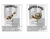Musical Instrument Flash Cards and Game
