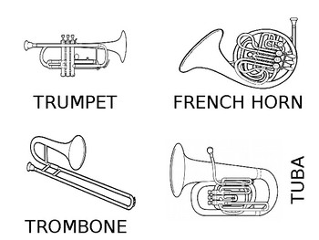 FREE Musical Instrument Flashcards