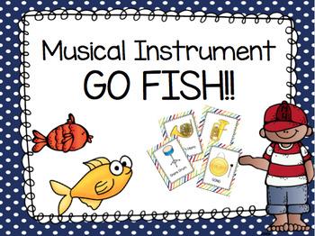 Musical Instrument GO FISH!