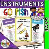 "Musical Instrument ""Go Fish"" Game"