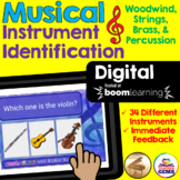 Musical Instrument Identification Digital Boom Cards