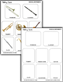Musical Instrument Matching Cards