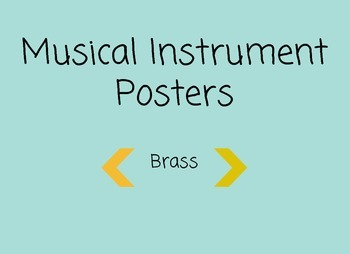 Musical Instrument Posters | Brass