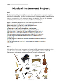 Musical Instrument Project