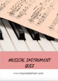 Musical Instrument Quiz