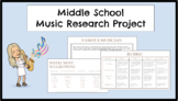 Musical Instrument Research Project
