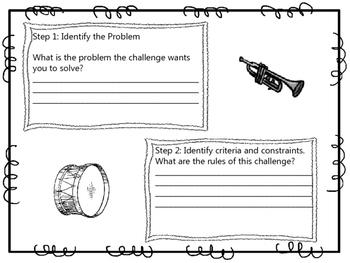 Musical Instrument STEM Challenge