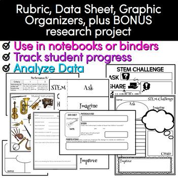 STEAM Challenge - Musical Instrument STEM Activity