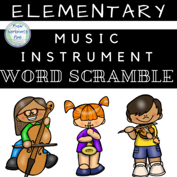 Musical Instrument Scramble