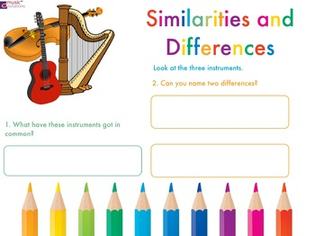 Musical Instrument Similarities And Differences.