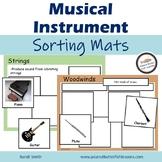 Musical Instrument Sorting Mats