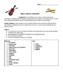Musical Instrument Sound STEM Project