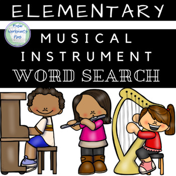 Musical Instrument Word Search