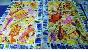 Musical Instruments for Art Collages (Kandinsky)
