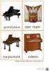 Musical Instruments Nomenclature Cards