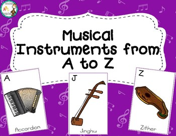 Musical Instruments A-Z