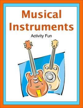 Musical Instruments Activity Fun