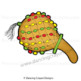 Musical Instruments: African Instruments Clip Art