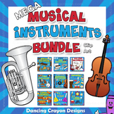 Musical Instruments Clip Art BUNDLE