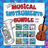 Musical Instruments Clip Art BUNDLE