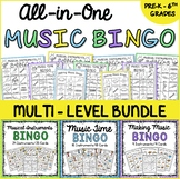 Musical Instruments Bingo Bundle
