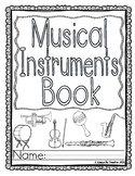 Music: Instruments - Worksheets / Book