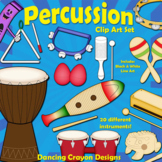 Musical Instruments: Classroom Percussion Instruments Clip