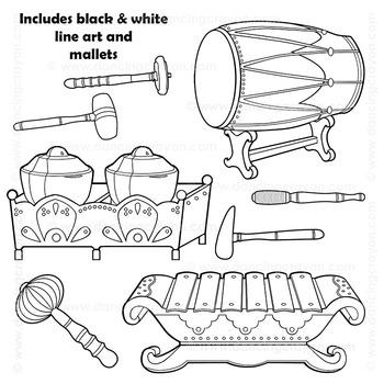 Musical Instruments: Indonesian Gamelan Instruments