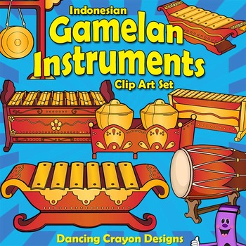 Musical Instruments: Indonesian Gamelan Instruments